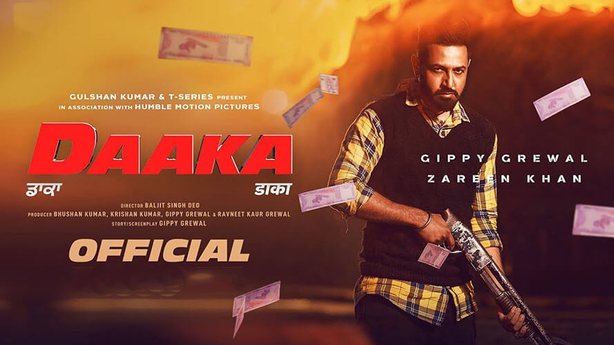 Daaka movie, Daaka movie poster